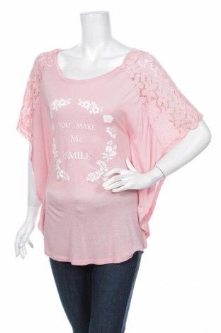 Дамска блуза Anna Field, Размер XS, Цвят Розов, 90% полиамид, 10% еластан, Цена 13,30лв.