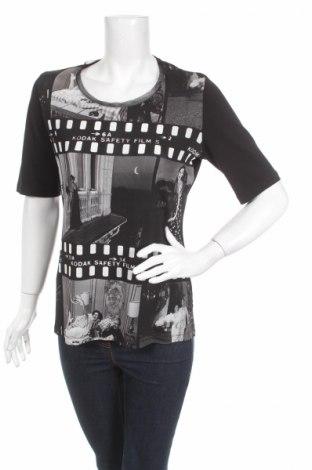 Дамска блуза Elena Miro, Размер M, Цвят Черен, 50% памук, 50% модал, Цена 11,20лв.