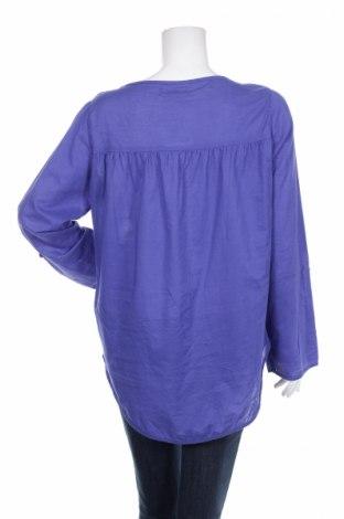 Γυναικείο πουκάμισο Colours Of The World, Μέγεθος L, Χρώμα Μπλέ, 100% βαμβάκι, Τιμή 13,40€