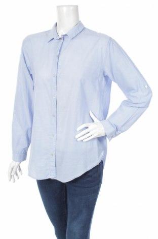 Γυναικείο πουκάμισο H&M, Μέγεθος L, Χρώμα Μπλέ, Βαμβάκι, Τιμή 19,59€