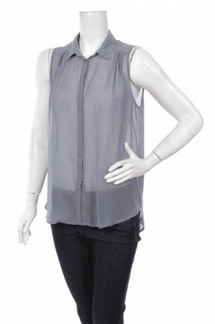 Дамска риза H&M, Размер M, Цвят Сив, Цена 5,50лв.