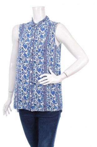 Γυναικείο πουκάμισο H&M Divided, Μέγεθος S, Χρώμα Μπλέ, Βισκόζη, Τιμή 11,34€