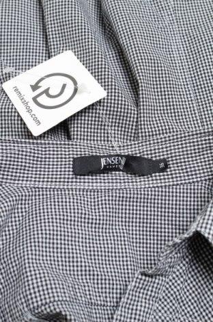 Γυναικείο πουκάμισο Jensen, Μέγεθος S, Χρώμα Μαύρο, 97% βαμβάκι, 3% ελαστάνη, Τιμή 12,37€