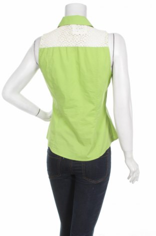 Γυναικείο πουκάμισο Next, Μέγεθος M, Χρώμα Πράσινο, 75% βαμβάκι, 25% πολυαμίδη, Τιμή 13,14€