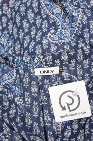Γυναικείο πουκάμισο Only, Μέγεθος S, Χρώμα Μπλέ, Τιμή 19,59€