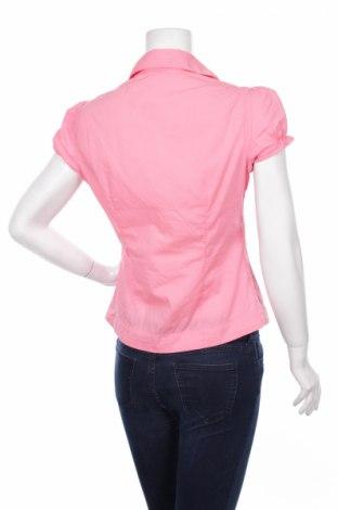 Γυναικείο πουκάμισο Orsay, Μέγεθος S, Χρώμα Ρόζ , 68% βαμβάκι, 28% πολυαμίδη, 4% ελαστάνη, Τιμή 14,74€