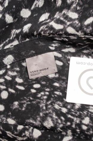 Γυναικείο πουκάμισο Vero Moda, Μέγεθος L, Χρώμα Μαύρο, Πολυεστέρας, Τιμή 9,28€