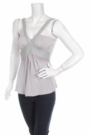 Γυναικείο αμάνικο μπλουζάκι Sky, Μέγεθος S, Χρώμα Γκρί, 93% βισκόζη, 7% ελαστάνη, Τιμή 3,09€
