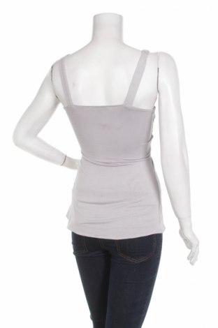 Γυναικείο αμάνικο μπλουζάκι Sky, Μέγεθος S, Χρώμα Γκρί, 93% βισκόζη, 7% ελαστάνη, Τιμή 4,33€