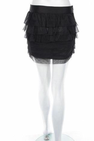 Пола Vero Moda, Размер S, Цвят Черен, Цена 10,58лв.