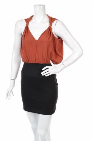 Φόρεμα Miso, Μέγεθος S, Χρώμα Καφέ, 66% πολυεστέρας, 30% βισκόζη, 4% ελαστάνη, Τιμή 4,35€
