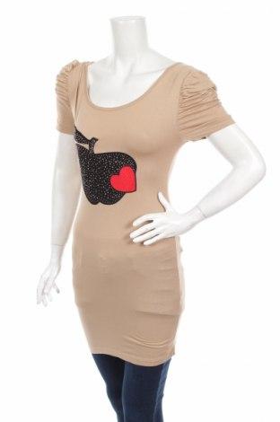 Tunika  Asg, Veľkosť S, Farba Béžová, 90% viskóza, 10% elastan, Cena  12,37€