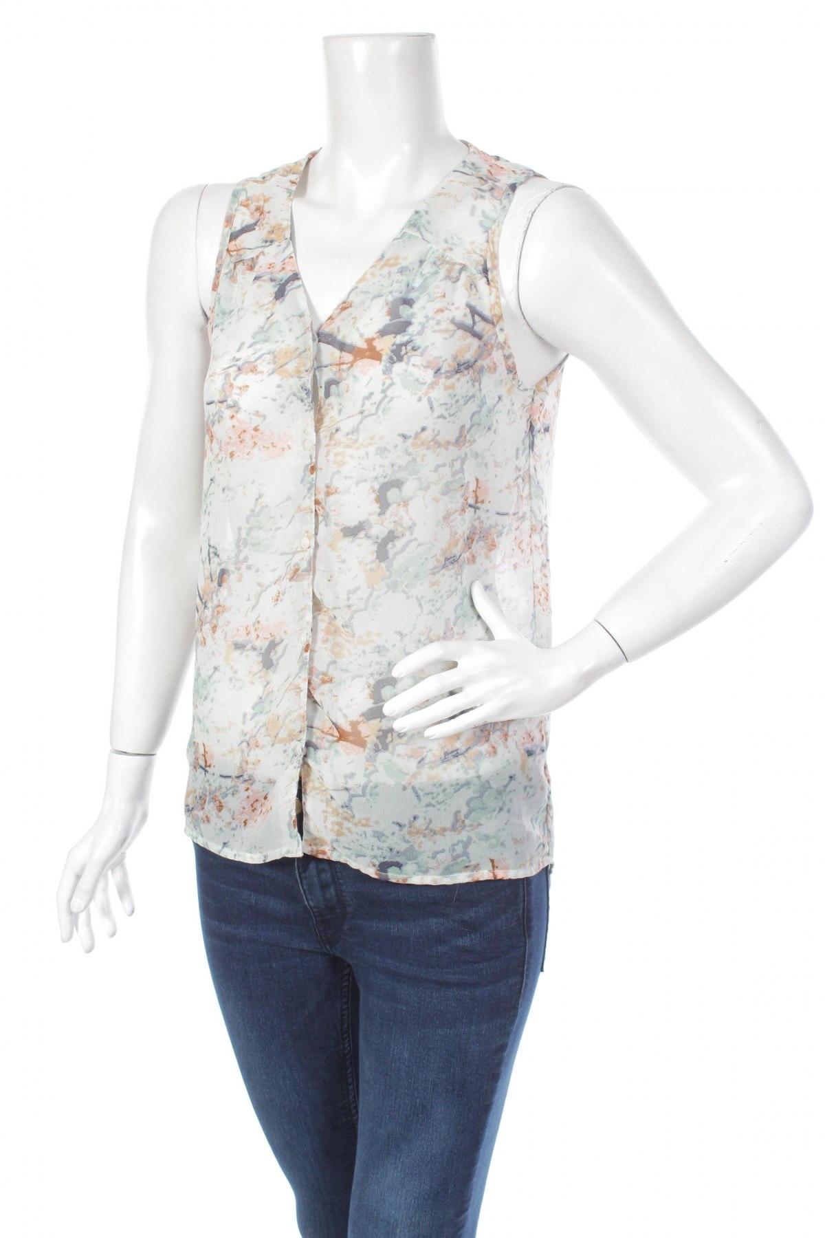 Γυναικείο πουκάμισο Only, Μέγεθος XS, Χρώμα Πολύχρωμο, Τιμή 12,48€