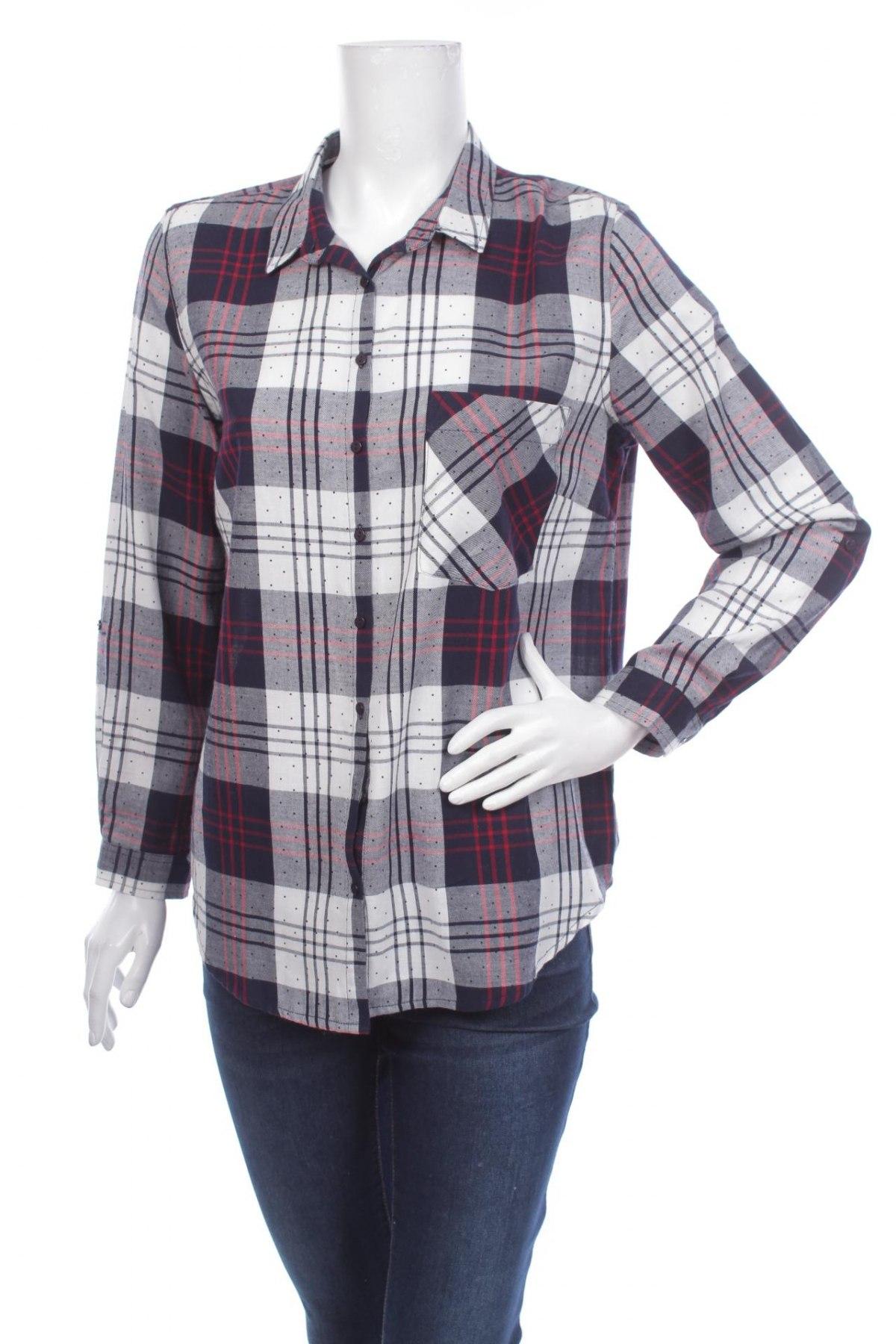 Γυναικείο πουκάμισο Sinsay, Μέγεθος M, Χρώμα Πολύχρωμο, Βαμβάκι, Τιμή 18,04€