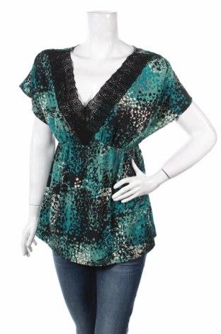 Дамска блуза Elle, Размер S, Цвят Многоцветен, Полиестер, Цена 4,50лв.