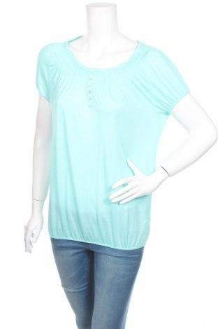 Дамска блуза Takko Fashion, Размер S, Цвят Зелен, 68% полиестер, 32% памук, Цена 4,76лв.