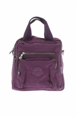Γυναικεία τσάντα, Χρώμα Βιολετί, Κλωστοϋφαντουργικά προϊόντα, Τιμή 12,99€