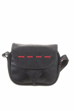 Γυναικεία τσάντα, Χρώμα Μαύρο, Δερματίνη, Τιμή 4,02€