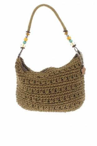 Γυναικεία τσάντα Carpisa, Χρώμα Πράσινο, Κλωστοϋφαντουργικά προϊόντα, Τιμή 12,99€