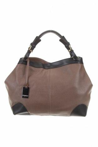 Γυναικεία τσάντα Daphne, Χρώμα Καφέ, Γνήσιο δέρμα, Τιμή 34,64€