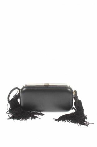 Γυναικεία τσάντα Mango, Χρώμα Μαύρο, Δερματίνη, Τιμή 7,73€