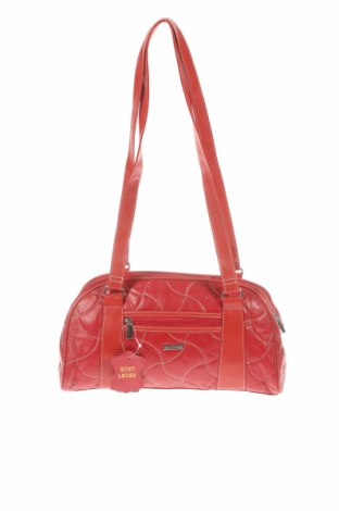 Γυναικεία τσάντα Stefano, Χρώμα Κόκκινο, Γνήσιο δέρμα, δερματίνη, Τιμή 14,07€