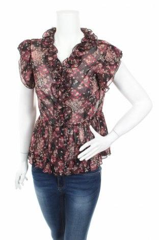Дамска риза, Размер S, Цвят Многоцветен, 85% памук, 10% полиестер, 5% еластан, Цена 5,50лв.