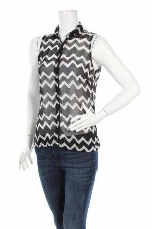 Γυναικείο πουκάμισο, Μέγεθος L, Χρώμα Μαύρο, Τιμή 3,27€