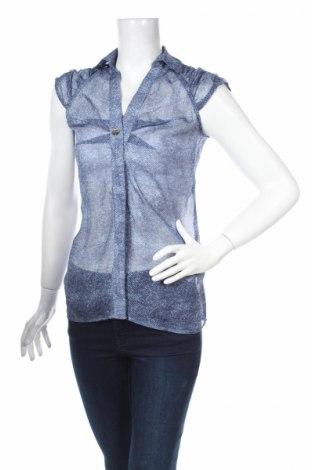 Дамска риза Amy Gee, Размер L, Цвят Син, 100% полиестер, Цена 12,35лв.