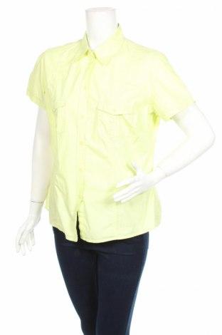 Дамска риза Canda, Размер XL, Цвят Зелен, 100% памук, Цена 6,50лв.