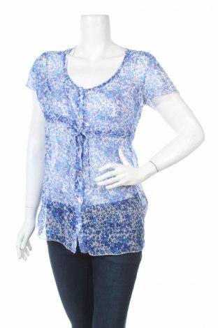 Дамска риза City Life, Размер S, Цвят Син, 100% полиестер, Цена 6,88лв.