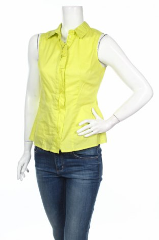 Дамска риза Fracomina, Размер M, Цвят Зелен, Памук, Цена 14,95лв.