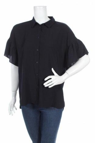 Дамска риза French Connection, Размер L, Цвят Син, Полиестер, Цена 32,70лв.