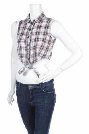 Γυναικείο πουκάμισο H&M Divided, Μέγεθος S, Χρώμα Πολύχρωμο, Βαμβάκι, Τιμή 3,74€