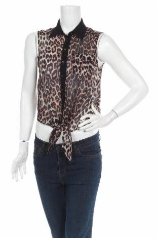 Дамска риза Jane Norman, Размер M, Цвят Многоцветен, 100% полиестер, Цена 4,25лв.