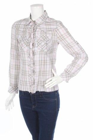 Γυναικείο πουκάμισο Naf Naf, Μέγεθος S, Χρώμα Πολύχρωμο, Βαμβάκι, Τιμή 7,04€