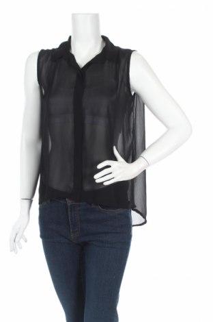 Γυναικείο πουκάμισο Vila, Μέγεθος M, Χρώμα Μαύρο, Τιμή 4,76€