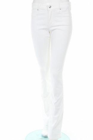 Dámske džínsy  Abercrombie & Fitch, Veľkosť M, Farba Biela, 98% bavlna, 2% elastan, Cena  17,58€