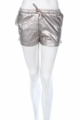 Γυναικείο κοντό δερμάτινο παντελόνι Gum