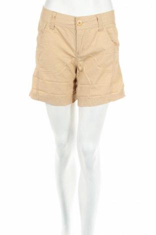 Дамски къс панталон Jsfn, Размер S, Цвят Бежов, Памук, Цена 5,98лв.