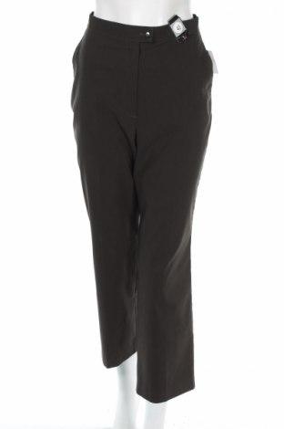 Дамски панталон Canda, Размер M, Цвят Зелен, 70% полиестер, 27% вискоза, 3% еластан, Цена 12,26лв.