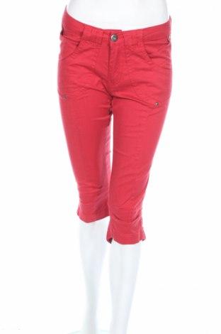 Дамски панталон Green House, Размер XS, Цвят Червен, 97% памук, 3% еластан, Цена 12,00лв.