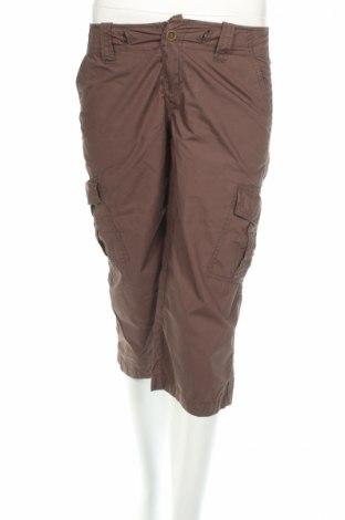 Дамски панталон Stefanel, Размер XS, Цвят Кафяв, 100% памук, Цена 6,30лв.