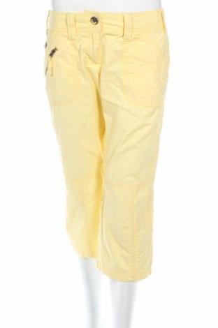 Дамски панталон Street One, Размер S, Цвят Жълт, 100% памук, Цена 8,51лв.