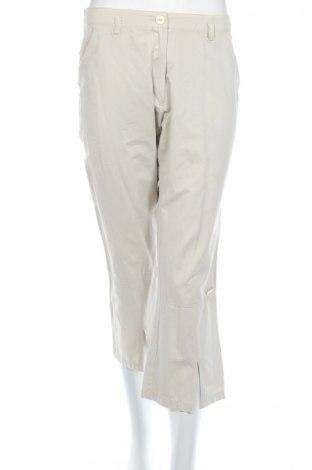 Дамски панталон Tom Tailor, Размер M, Цвят Бежов, 43% полиестер, 39% памук, 18% полиамид, Цена 5,52лв.