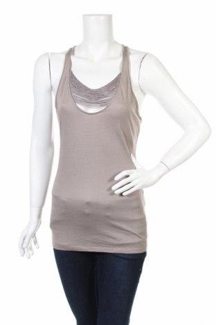 Γυναικείο αμάνικο μπλουζάκι Club Monaco, Μέγεθος S, Χρώμα  Μπέζ, 72% βισκόζη, 28% πολυεστέρας, Τιμή 7,24€