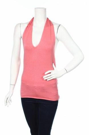 Дамски потник Elie Tahari, Размер M, Цвят Розов, 64% коприна, 17% памук, 16% полиакрил, 3% еластан, Цена 8,74лв.