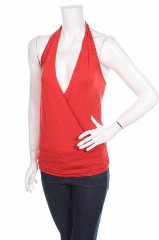 Γυναικείο αμάνικο μπλουζάκι Madonna, Μέγεθος XS, Χρώμα Κόκκινο, 92% βισκόζη, 8% ελαστάνη, Τιμή 1,59€