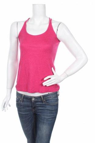 Γυναικείο αμάνικο μπλουζάκι Morgan, Μέγεθος M, Χρώμα Ρόζ , Τιμή 2,97€