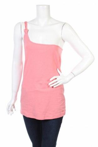 Γυναικείο αμάνικο μπλουζάκι Tom Tailor, Μέγεθος L, Χρώμα Ρόζ , Τιμή 7,54€